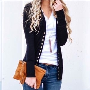 Softest MUST HAVE Cardigan - BLACK